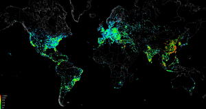 Carna botnet global distribution